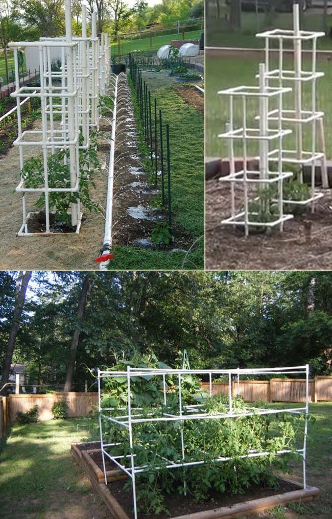 DIY PVC Pipe Projects Make Your Gardening More Easier – LazyTries