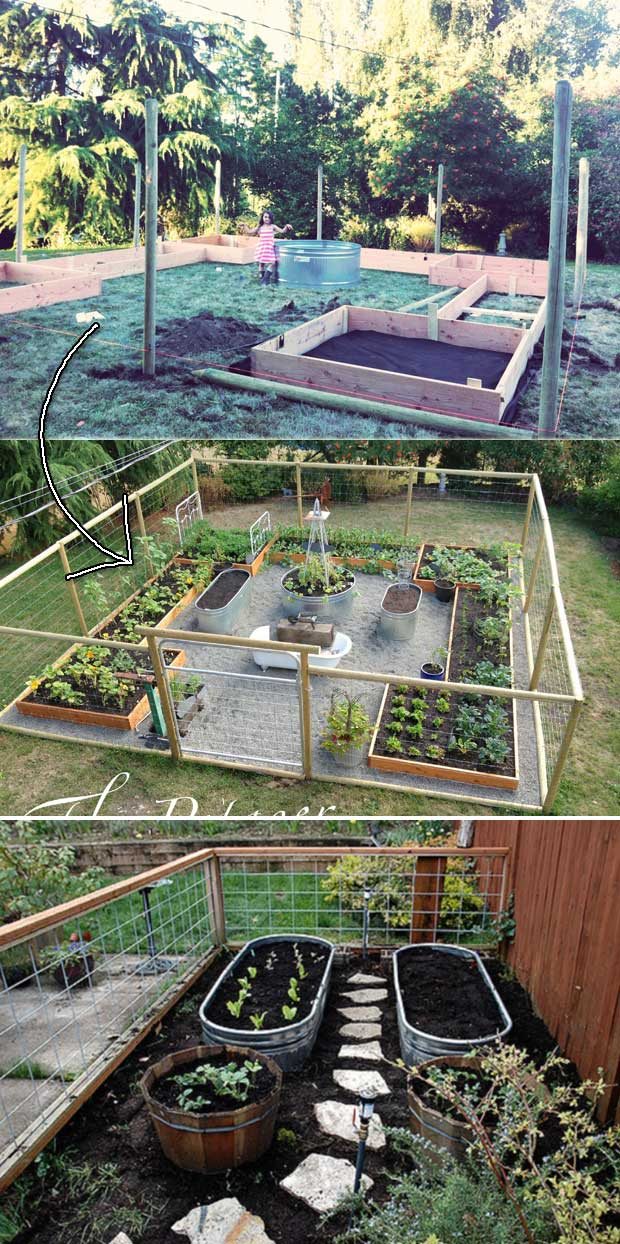 The Secrets To Growing A Vegetable Garden In Small Space