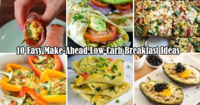 10 Low Carb Breakfasts Easily to Make-Ahead and Keep Entire Week