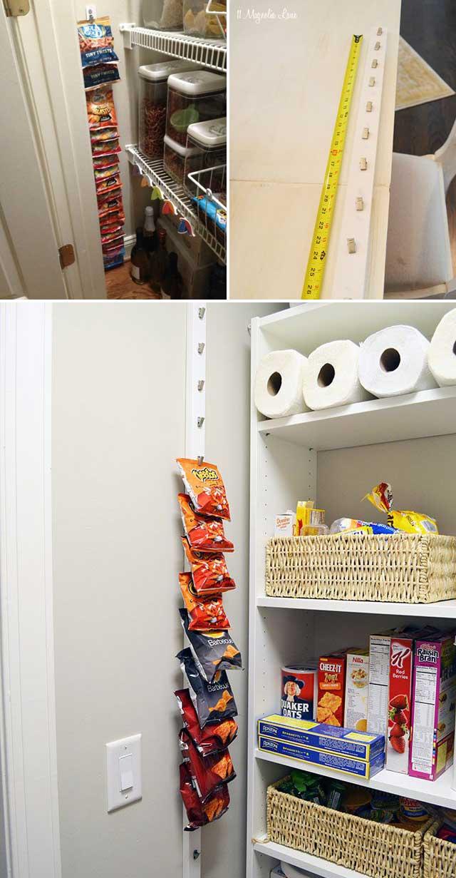 Creating Kitchen Storage: 15 Genius Tips For Creating Hanging Pantry Storage