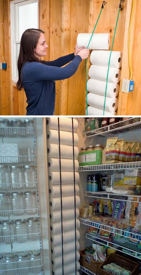 Narrow Pantry Storage