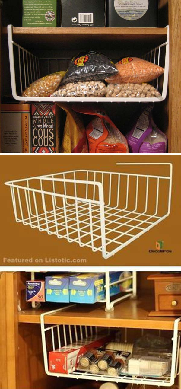 15 Genius Tips For Creating Hanging Pantry Storage Lazytries