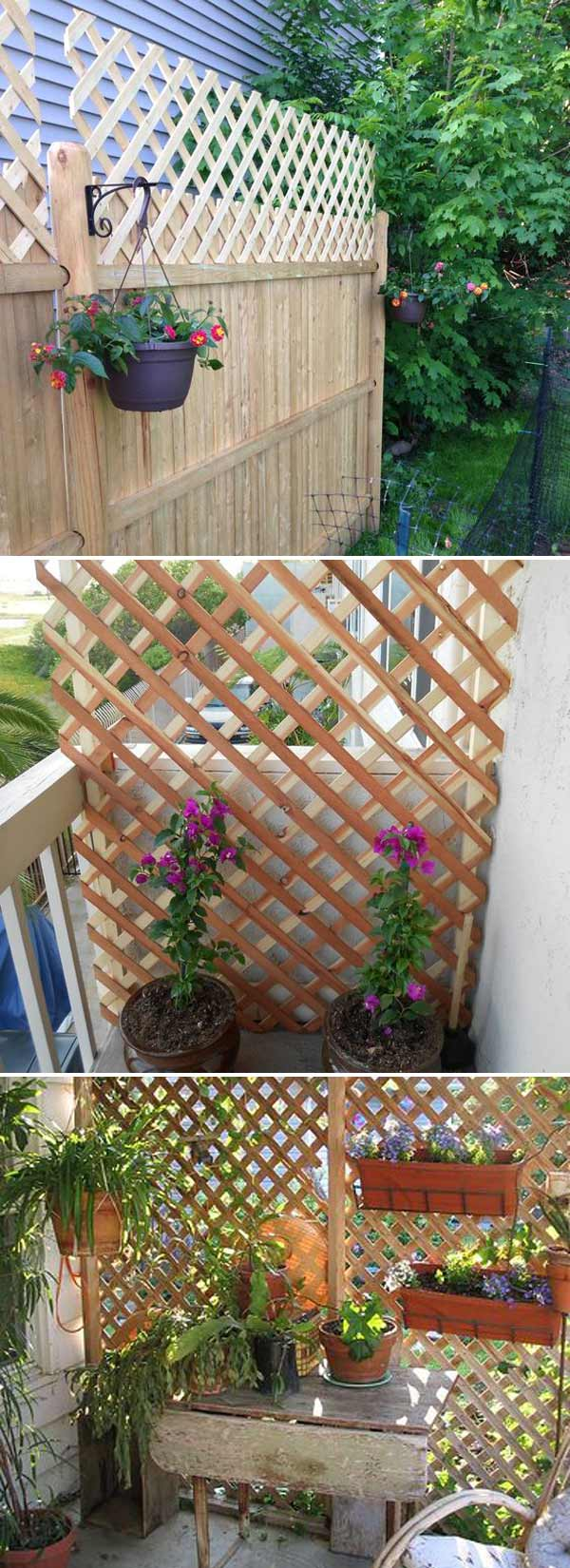 25 Cool Ideas for Getting Privacy in Summer Patio and Yard – LazyTries