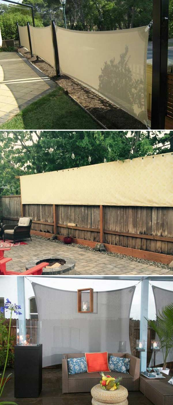 20 Cool Ideas For Getting Privacy In Summer Patio And Yard