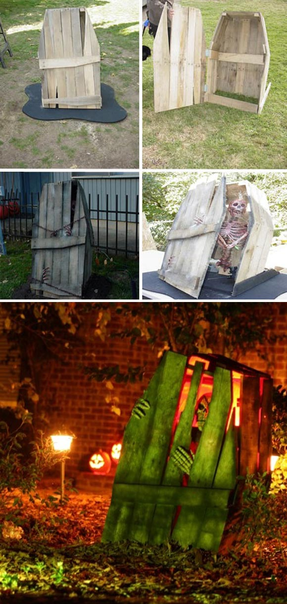 Best 17 Halloween Yard Decorations Made With Recycled