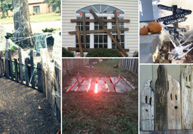 Best 17 Halloween Yard Decorations Made With Recycled Pallets