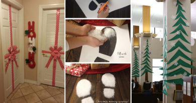 Cool Last-Minute Christmas Decorations You Can Make Yourself